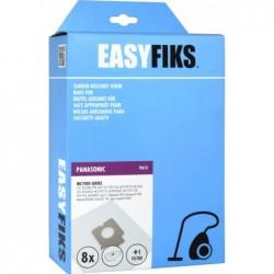 Easyfiks PA13 - Stofzuigerzakken - Geschikt voor Panasonic MC 7000 Serie - 8 stuks - image #1