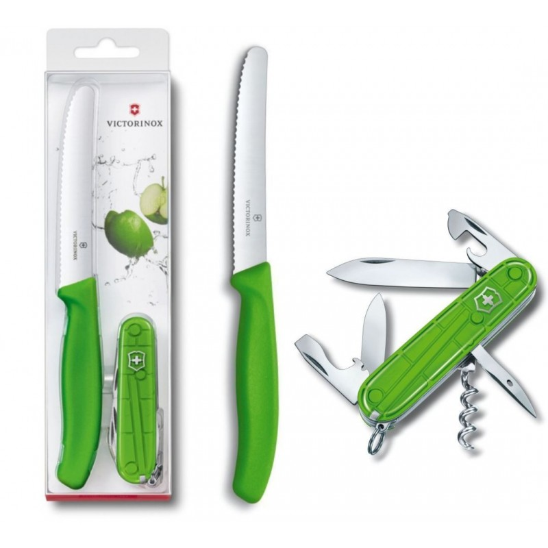 Victorinox Color Twins Zakmes Limited Edition - Groen - image #1