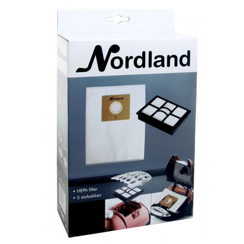 Nordland NSC9415 - Stofzuigerzakken - 5 stuks - image #1