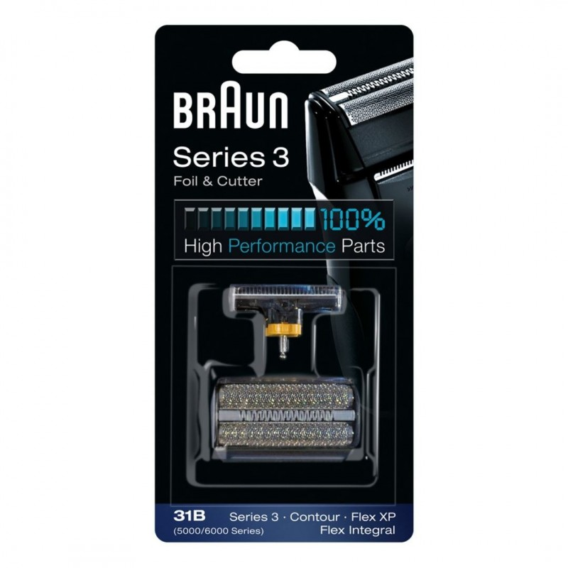 Braun Scheerblad 31B met Messenblok - 5000 / 6000 Series - image #1