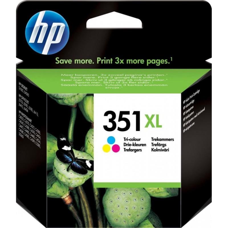 HP 351XL Inktcartridge - Kleur - image #1
