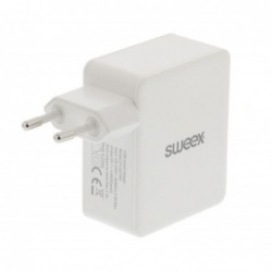 Sweex 4-poorts USB oplader 4,8A - Wit - image #2