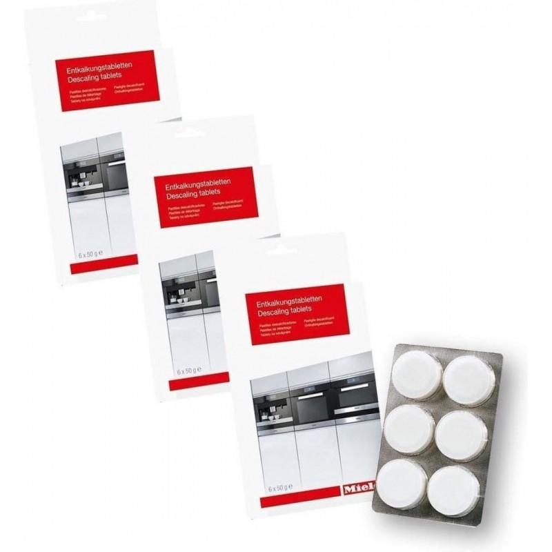 Miele Ontkalkingstabletten - Koffiemachineontkalker - 3x 6 stuks - image #1