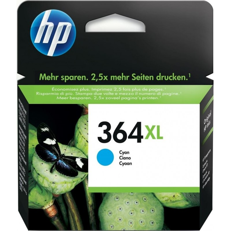 HP 364XL Inktcartridge - Cyaan - image #1