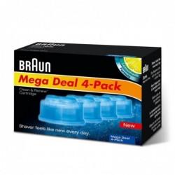 Braun Reinigingsvloeistof Clean & Renew Cartridges - 4 Stuks - image #3