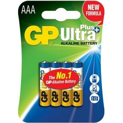 GP Ultra Alkaline AAA Batterijen A4 - image #1