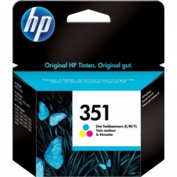 HP 351 Inktcartridge - Kleur - image #1