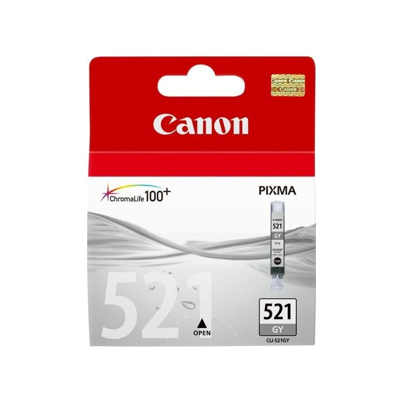 Canon CLI-521GY Inktcartridge - Grijs - image #1