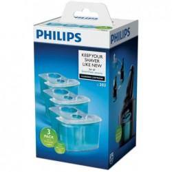 Philips Reinigingsvloeistof voor Scheerapparaten met Cartridges JC303 - 3 Stuks - image #1