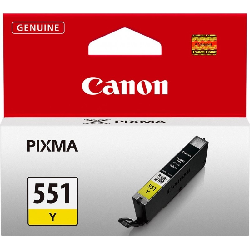 Canon CLI-551Y Inktcartridge - Geel - image #1