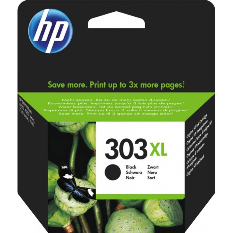 HP 303XL Inktcartridge Zwart - image #1