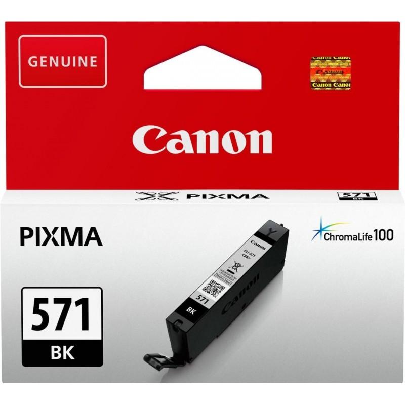 Canon CLI-571BK Inktcartridge - Zwart - image #1
