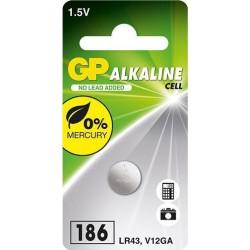 GP Knoopcel Batterij LR43 / AG12 - image #1