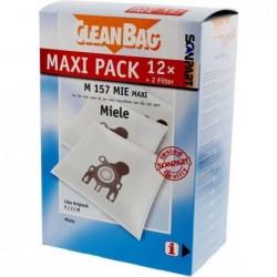 CleanBag M157MIE Maxi - Stofzuigerzakken - 12 stuks - image #1