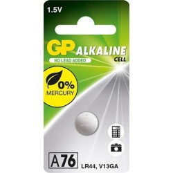 GP Knoopcel Batterij LR44 - image #1