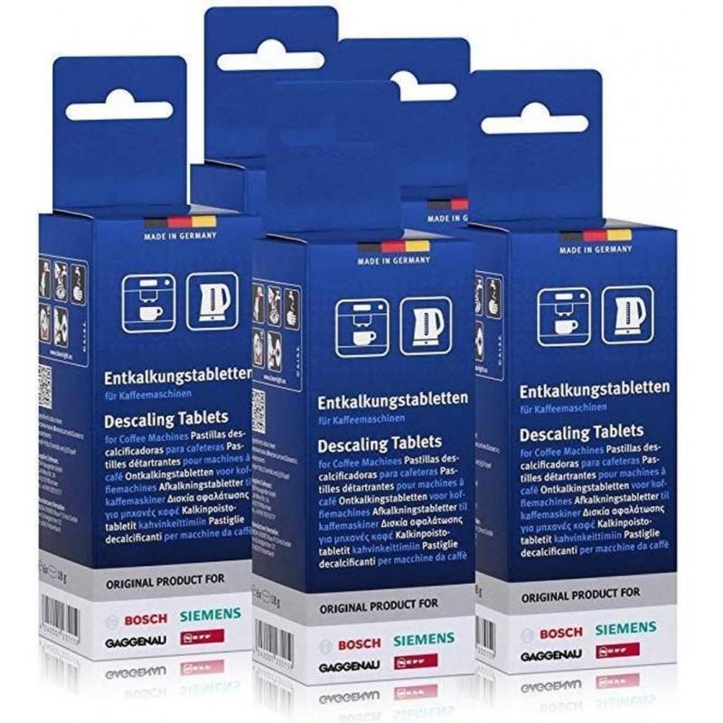 Bosch/Siemens Ontkalkingstabletten - Koffiemachineontkalker - 5 x 6 stuks - image #1