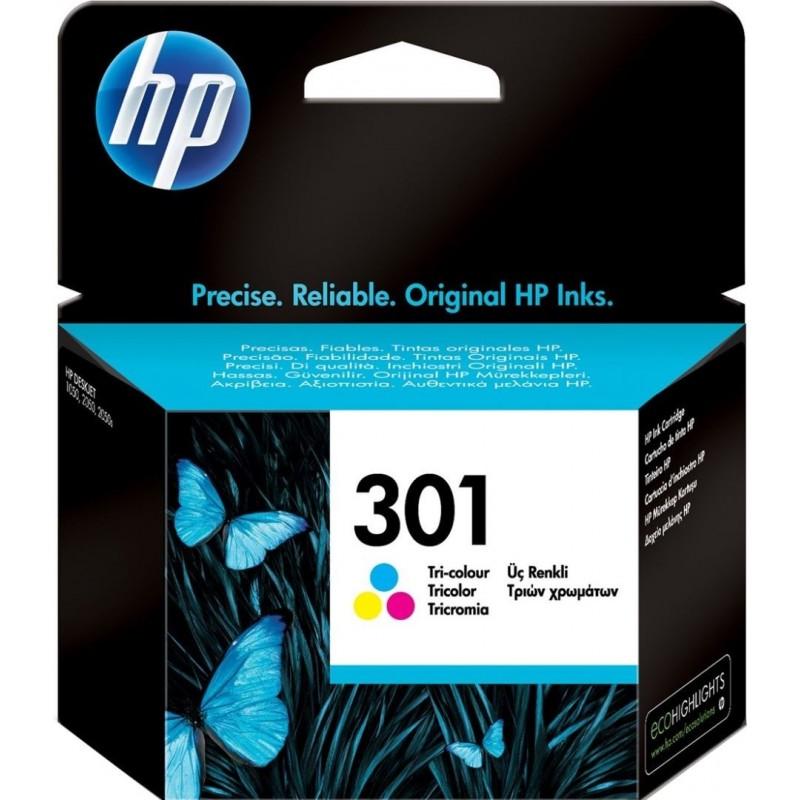 HP 301 Inktcartridge - Kleur - image #1