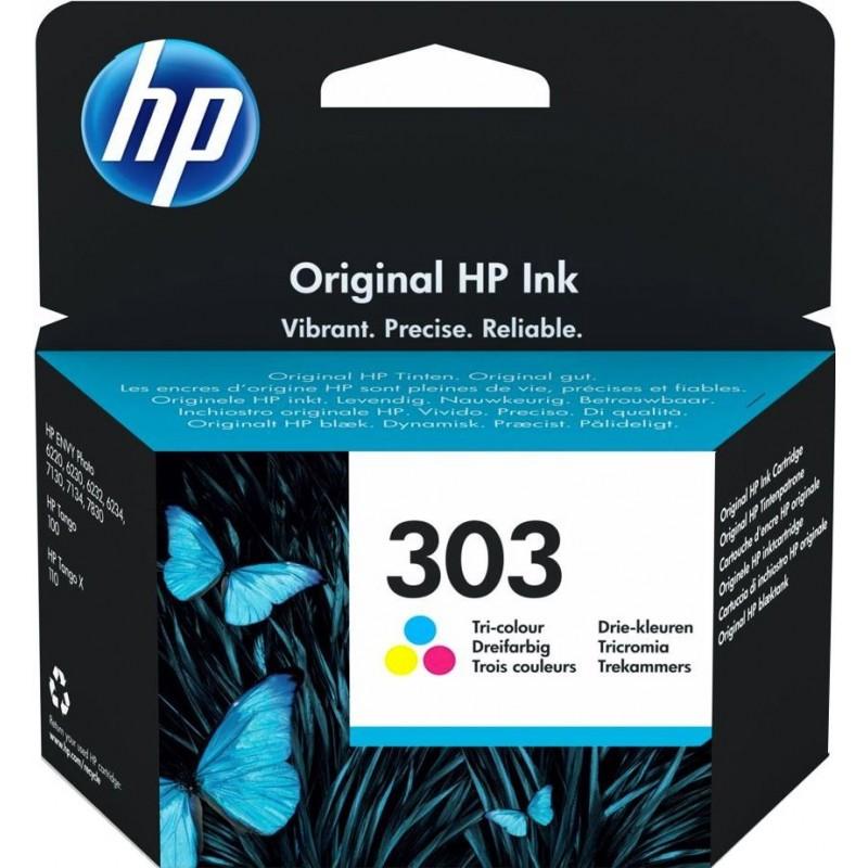 HP 303 Inktcartridge - Kleur - image #1