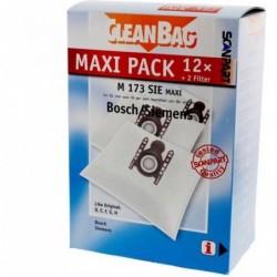 CleanBag M173SIE Maxi - Stofzuigerzakken - 12 stuks - image #1