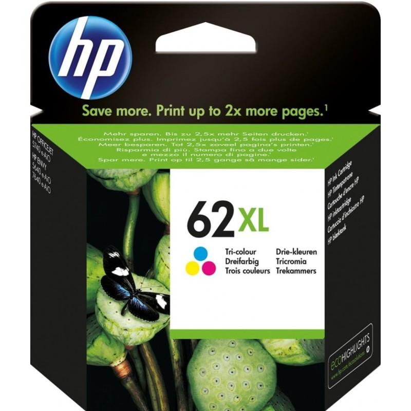 HP 62XL Inktcartridge - Kleur - image #1
