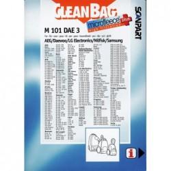 CleanBag M101DAE3 - Stofzuigerzakken - 4 stuks - image #2
