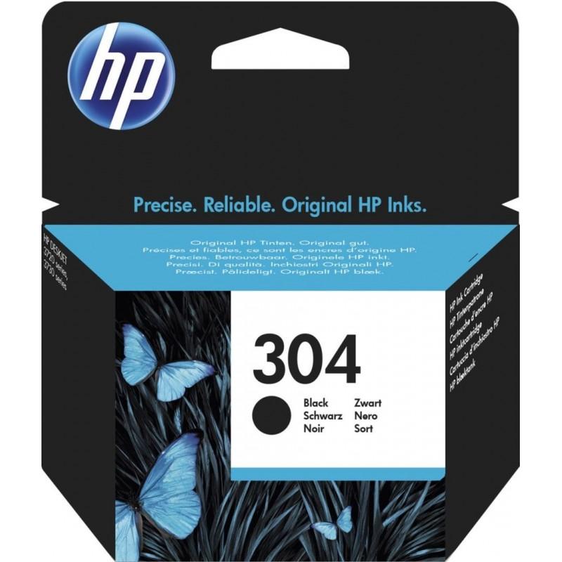 HP 304 Inktcartridge - Zwart - image #1