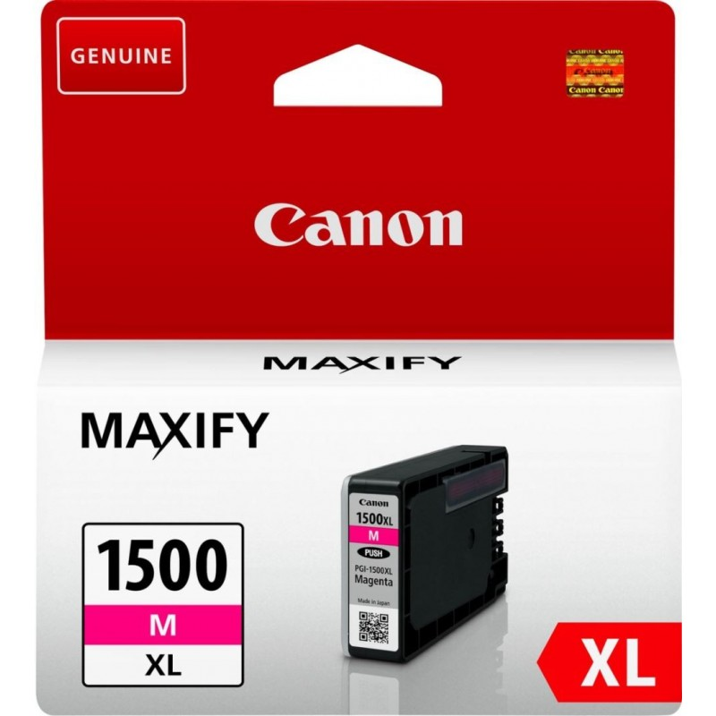 Canon PGI-1500M XL Inktcartridge - Magenta - image #1