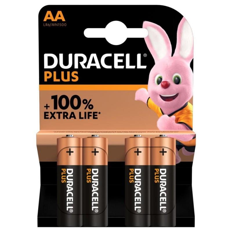 Duracell Plus Alkaline AA Batterijen - image #1