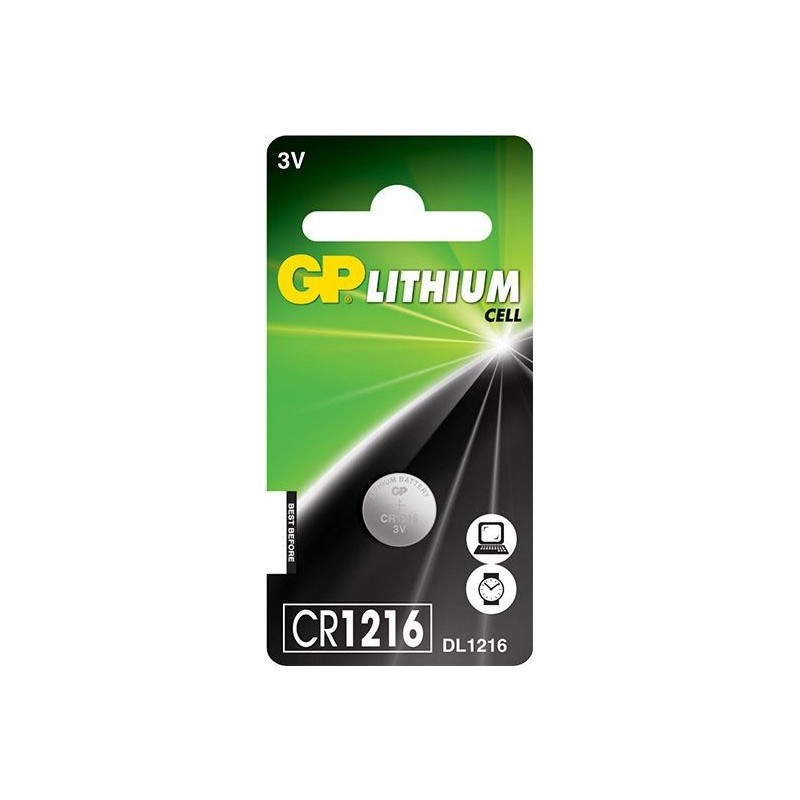 GP Knoopcel Batterij CR1216 - image #1
