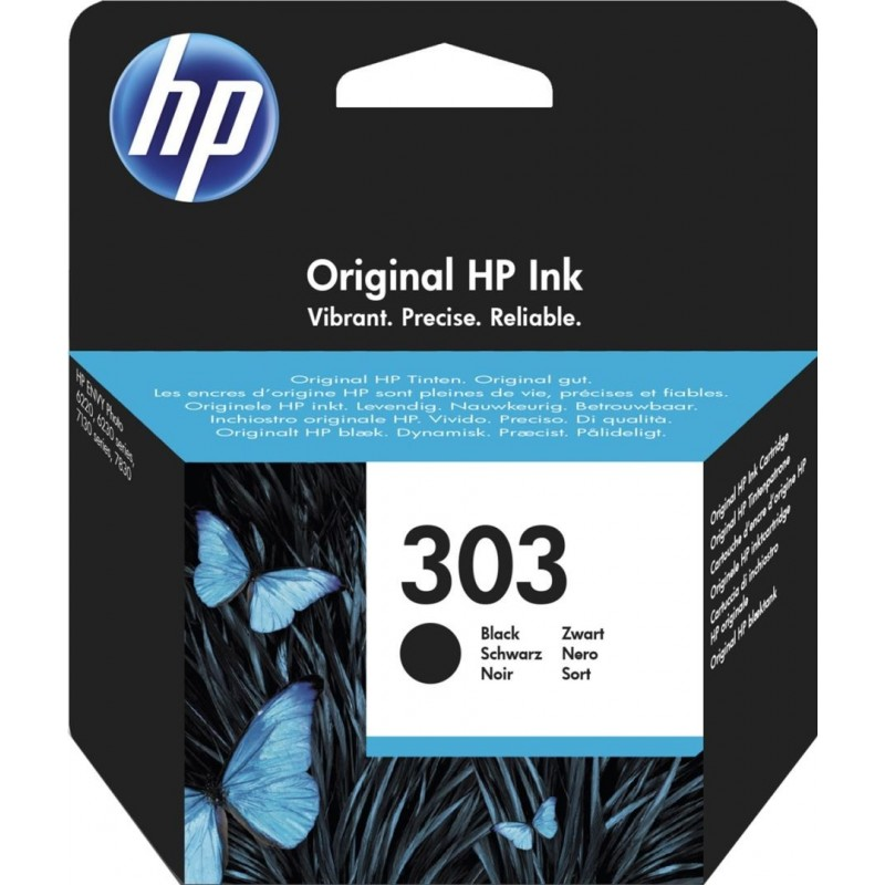 HP 303 Inktcartridge - Zwart - image #1
