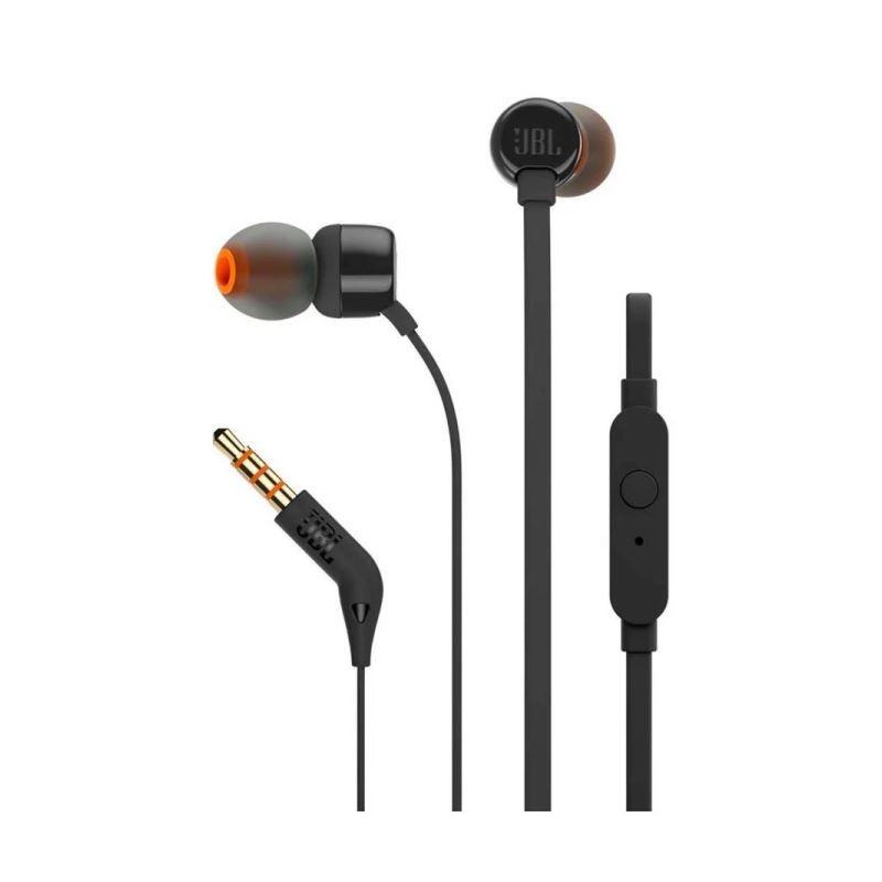 JBL Oordopjes met Microfoon - T110 Zwart - image #1