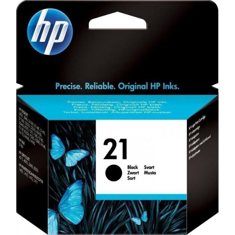 HP 21 Inktcartridge - Zwart - image #1