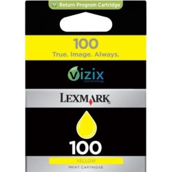 Lexmark 100 Inktcartridge - Geel - image #1