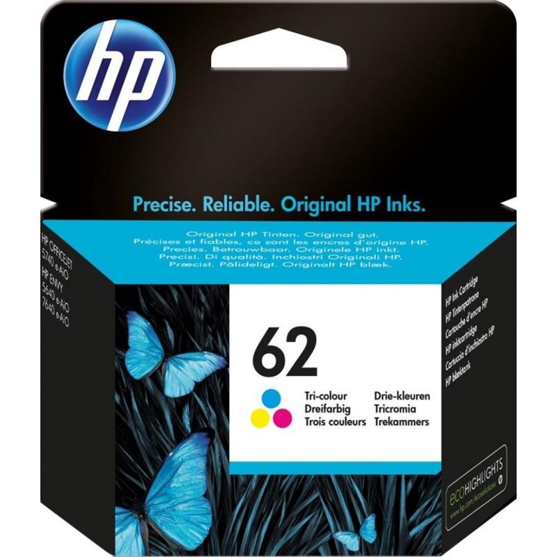 HP 62 Inktcartridge - Kleur - image #1