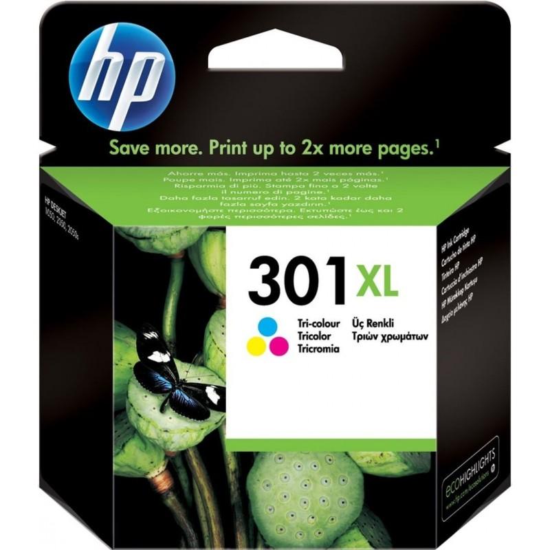 HP 301XL Inktcartridge - Kleur - image #1