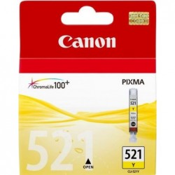 Canon CLI-521Y Inktcartridge - Geel - image #1