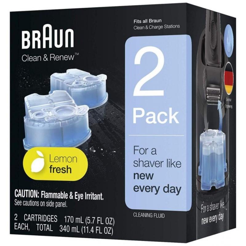 Braun Reinigingsvloeistof Clean & Renew Cartridges - 2 Stuks - image #1