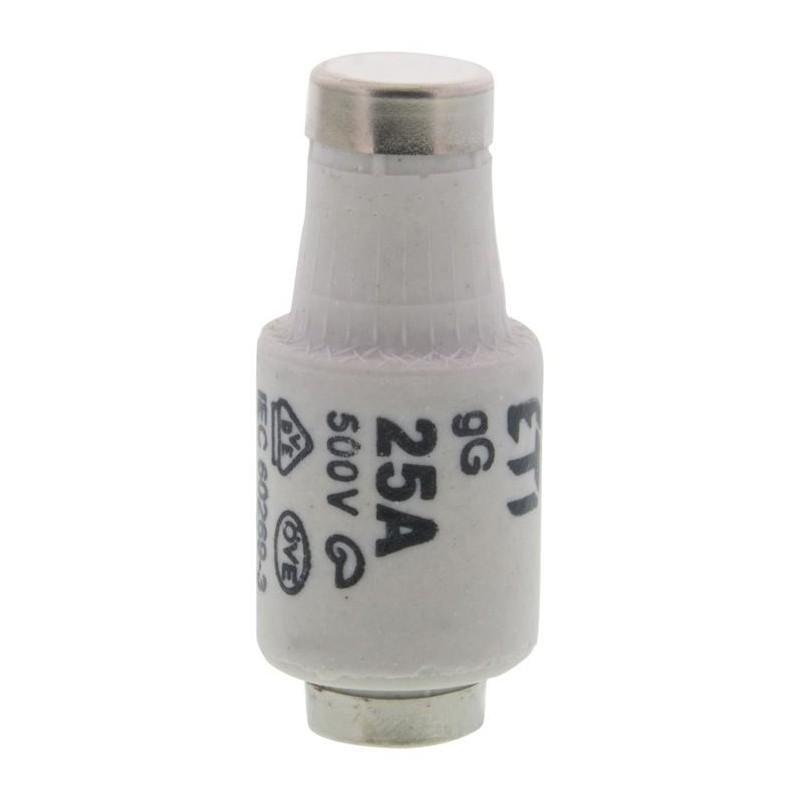 Zekering 25A 500V Snel - 5 stuks - image #1