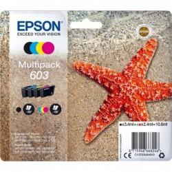 Epson 603 (T603) Inktcartridge - Combipack - Zwart, cyaan, magenta, geel - image #1