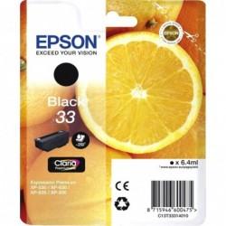 Epson 33 (T333140) Inktcartridge - Zwart - image #1