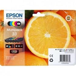 Epson 33 (T33) Inktcartridge - Combipack - Zwart, cyaan, magenta, geel, foto zwart - image #1