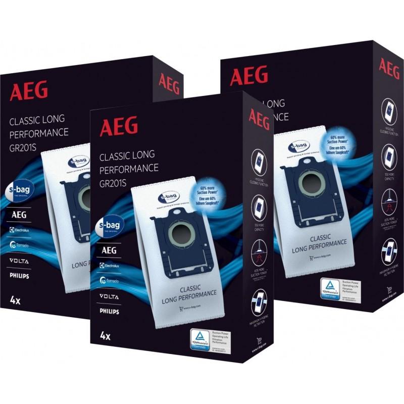 AEG GR201SM S-bag - Stofzuigerzakken - 12 stuks - image #1
