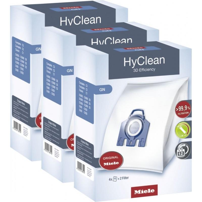 Miele HyClean 3D Efficiency GN - Stofzuigerzakken - 3 pack - 12 stuks - image #1