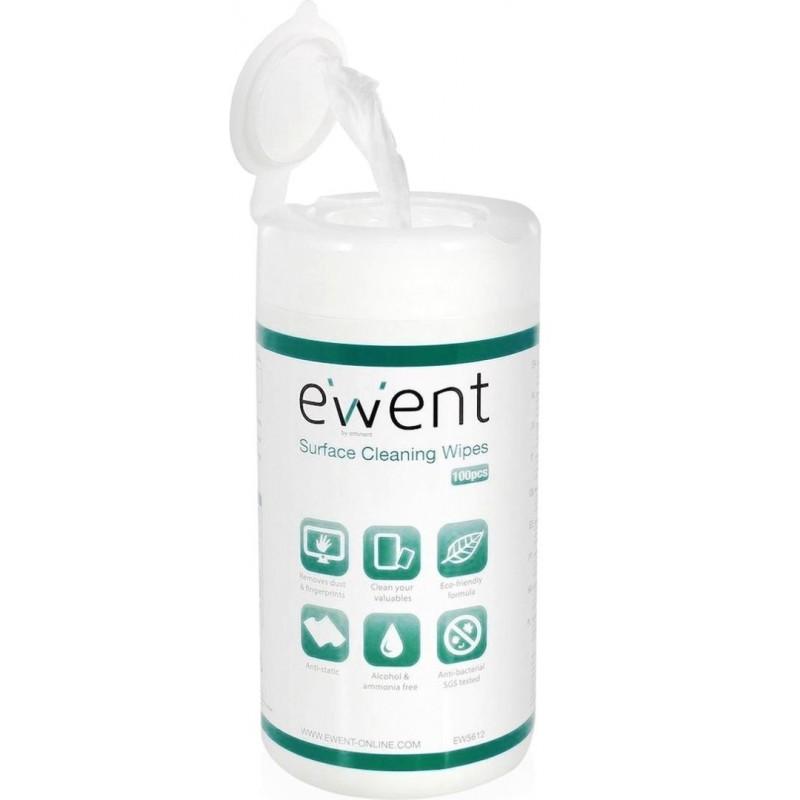 Ewent EW5612 Schoonmaakdoekjes - 100 stuks - image #1
