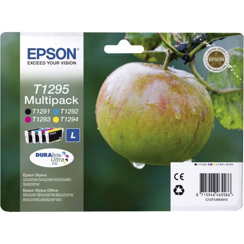 Epson T1295 Inktcartridge - Combipack - Zwart, cyaan, magenta, geel - image #1
