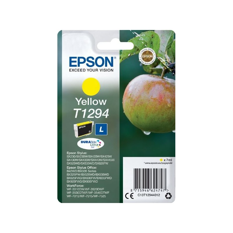 Epson T1294 Inktcartridge - Geel - image #1