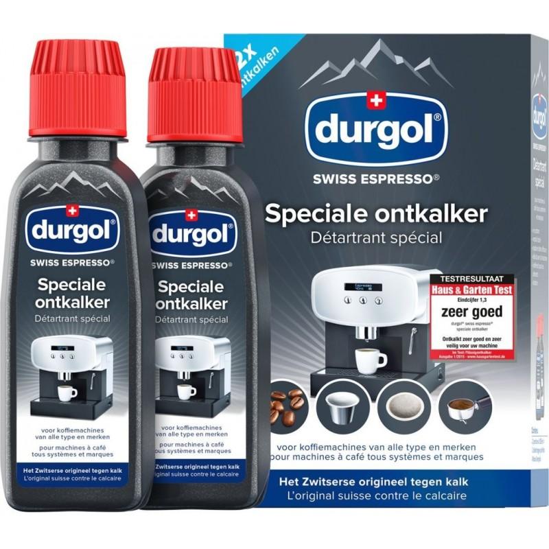 Durgol Swiss Espresso Ontkalker 2x 125ml - image #1