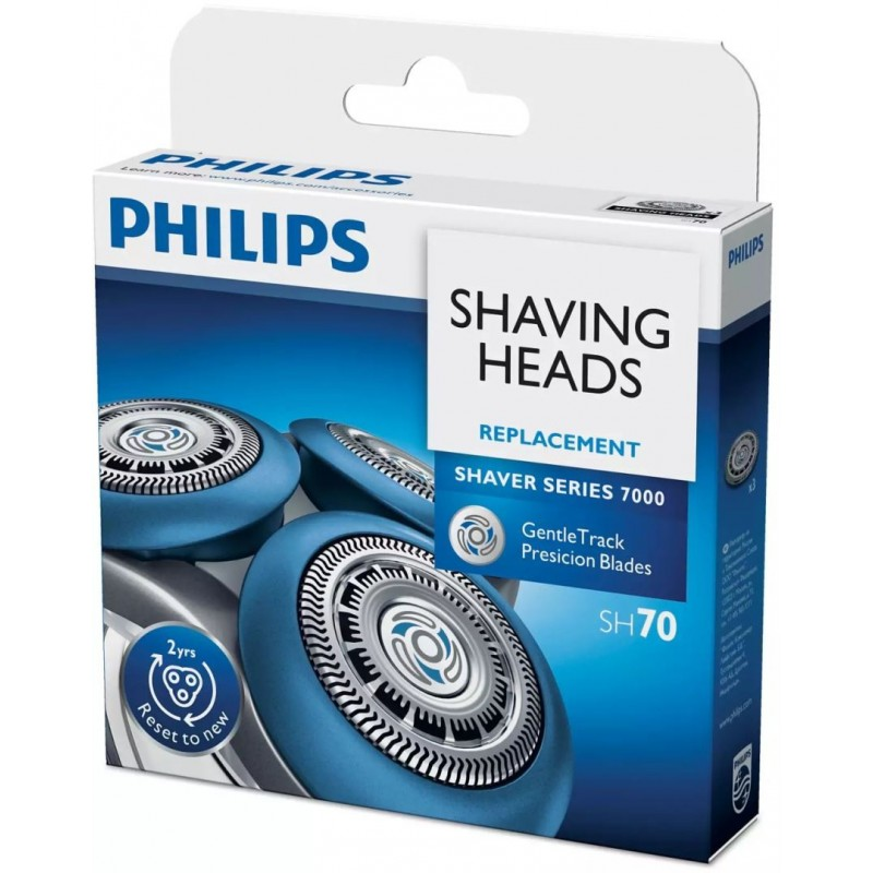 Philips Scheerkoppen SH70 Shaver Series 7000 - 3 stuks - image #1