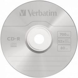 Verbatim CD-R AZO Crystal 10 stuks 700MB Jewelcase - image #2