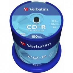 Verbatim CD-R Extra Protection 100 stuks  700MB Spindle - image #1